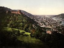 Heidelberg / Photochrom um 1900 by AKG  Images