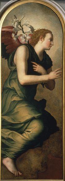 A.Bronzino, Engel der Verkuendigung by AKG  Images