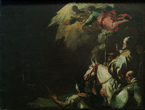 Leo I. tritt Attila entgegen/ L.Giordano by AKG  Images