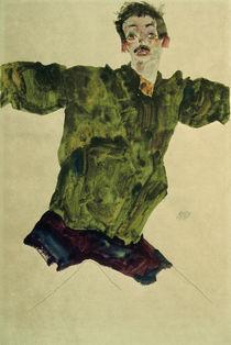 Egon Schiele, Selbstbildnis 1911 von AKG  Images