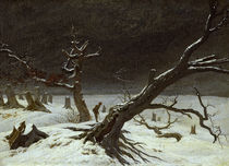 C.D.Friedrich, Winterlandschaft / 1811 by AKG  Images