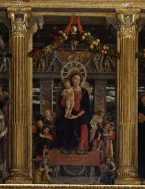 A.Mantegna, Altar von S.Zeno, Maria m.K. by AKG  Images