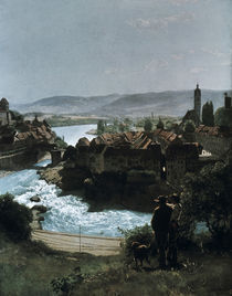 Hans Thoma, Rhein bei Laufenburg/ 1870 by AKG  Images