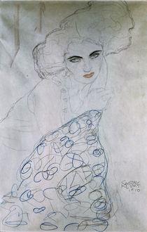 G.Klimt, Studie zu Damenportraet / 1910 by AKG  Images