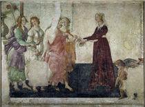 Botticelli, Giovanna Tornabuoni von AKG  Images
