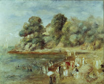 Auguste Renoir, Strand bei Pornic by AKG  Images