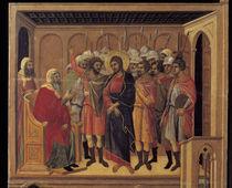 Duccio, Christus vor Hannas von AKG  Images