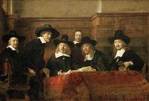 Rembrandt, Die Staalmeesters von AKG  Images