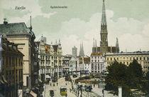 Berlin, Spittelmarkt / Postk. um 1900 von AKG  Images