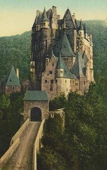 Burg Eltz, Aussenansicht / Postkarte von AKG  Images