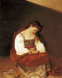 Caravaggio, Reuige Magdalena von AKG  Images