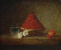 J.B.S. Chardin, Der Erdbeerkorb by AKG  Images