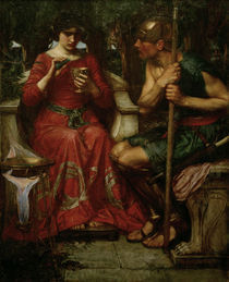 J.W.Waterhouse, Jason und Medea, 1907 by AKG  Images