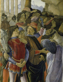 Botticelli, Anbetung Koenige, Ausschn. by AKG  Images