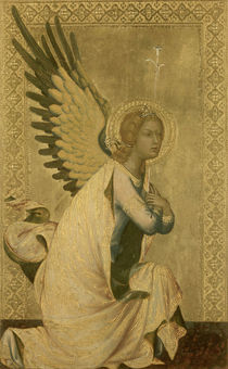 Simone Martini, Engel der Verkuendigung by AKG  Images