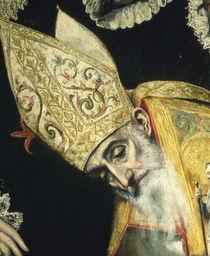 El Greco, Begraebnis Orgaz, Augustinus von AKG  Images