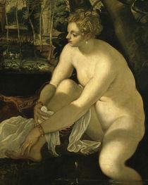 Tintoretto, Susanna und die beiden Alten by AKG  Images