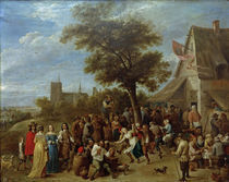 David Teniers d.J., Dorfkirmes by AKG  Images