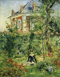 E.Manet, Im Garten von Bellevue by AKG  Images