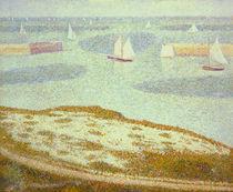 G.Seurat, Einfahrt Vorhafen Port-en-B. von AKG  Images