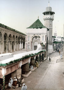Tunis, College Sadiki / Photochrom von AKG  Images