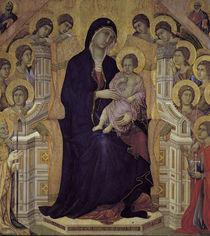 Duccio, Maesta, Ausschnitt von AKG  Images