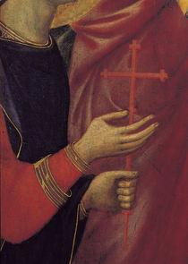 Duccio, Maesta, Haende des Ansanus by AKG  Images