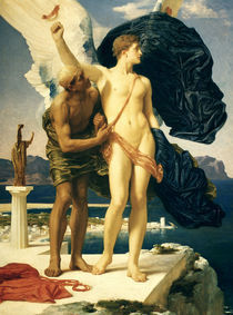 Frederic Leighton, Daedalus und Ikarus by AKG  Images
