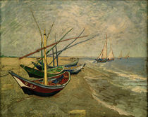 V.van Gogh, BFischerboot am Strand by AKG  Images