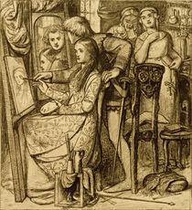 D.G.Rossetti, Spiegel der Liebe by AKG  Images