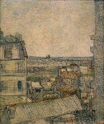 V.v.Gogh, Blick aus dem Fenster, Paris von AKG  Images