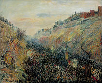 Camille Pissarro, Boulevard Montmartre von AKG  Images