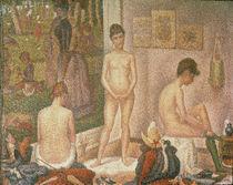 G.Seurat, Die Modelle (Kleine Fassung von AKG  Images