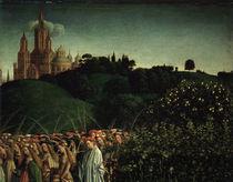 Maertyrerinnen / Jan v.Eyck, Genter Altar by AKG  Images