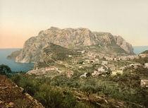Capri, Blick auf Stadt Capri / Photochr. by AKG  Images