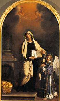 Guercino, Hl.Francesca Romana by AKG  Images