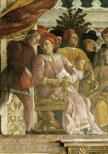 Lodovico Gonzaga u. Familie / Mantegna by AKG  Images