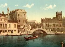 Venedig, Bruecke / Photochrom von AKG  Images