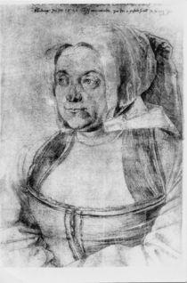 Agnes Duerer / Zng.v.Duerer 1521 von AKG  Images