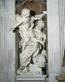 G.L.Bernini, Habakuk und der Engel by AKG  Images