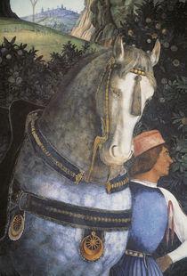 A.Mantegna, Diener mit Pferd von AKG  Images