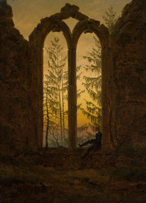 C.D.Friedrich, Der Traeumer by AKG  Images