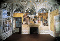 Mantua, Camera degli Sposi, Nordwand von AKG  Images