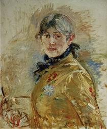 Berthe Morisot, Selbstportraet / 1885 von AKG  Images