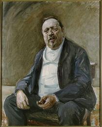 Alfred von Berger / Gem.v.Liebermann by AKG  Images