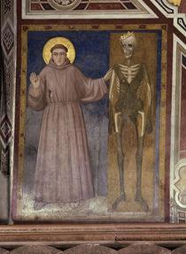 Giotto, Franziskus und der Tod von AKG  Images