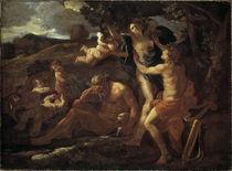 Nic. Poussin, Apollo und Daphne von AKG  Images