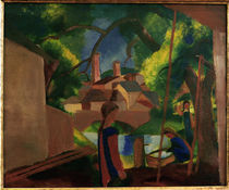 August Macke, Kinder am Brunnen by AKG  Images