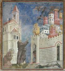 Giotto, Franziskus befreit von Daemonen von AKG  Images