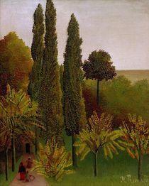 H.Rousseau, Promenade im Park Buttes Ch. von AKG  Images